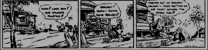 pub comic