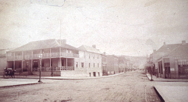 The Ship Hotel, Elizabeth Street Hobart C1875
