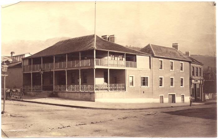 The Ship Inn, Hobart 1860s