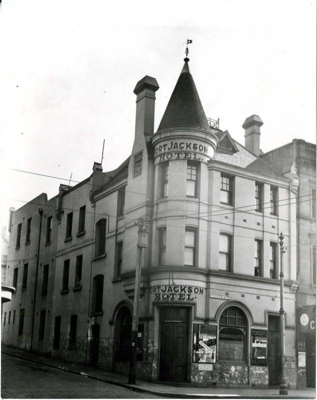 Port Jackson Hotel 1922.