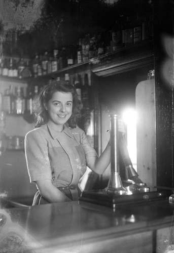 Crown Inn barmaid