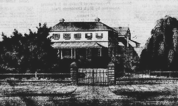 Richard Jones built this pleasant Georgian house at the corner of Pitt and Hunter Streets in 1827, where the Currency Lass later followed.