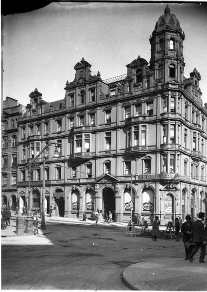 The Empire Hotel in the 1920s shortly before it closed for business.