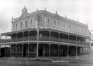 George Tory's Kiama Hotel C1921