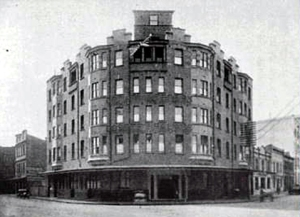 The Hotel Burlington, Haymarket in 1920