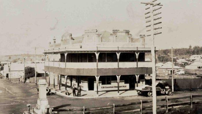 Great Northern Hotel Teralba 1923 sepia small