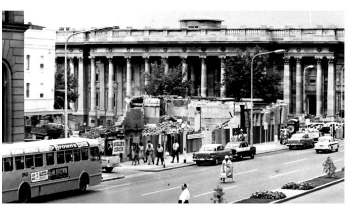 gresham hotel adelaide demolished 1966